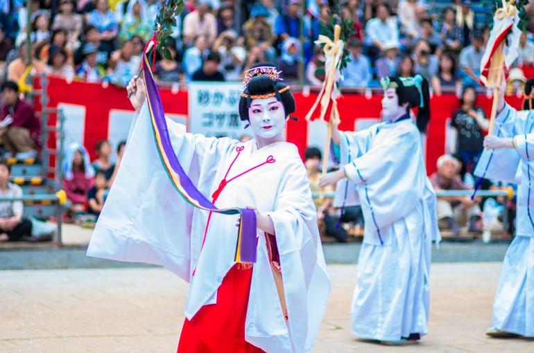 長崎くんち 2013 桶屋町 傘鉾・本踊