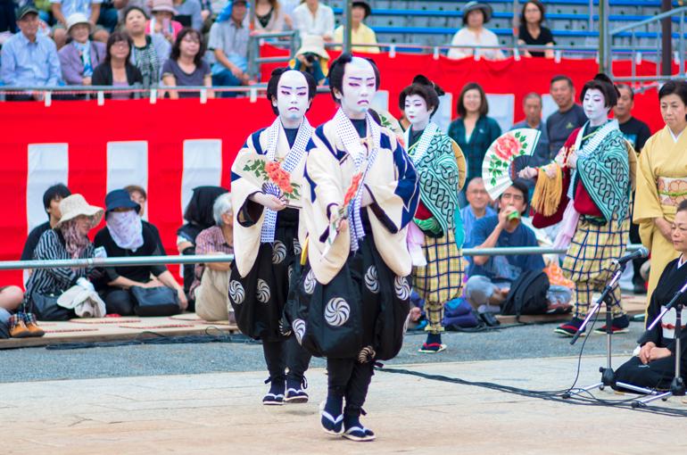 長崎くんち 2013 丸山町 傘鉾・本踊