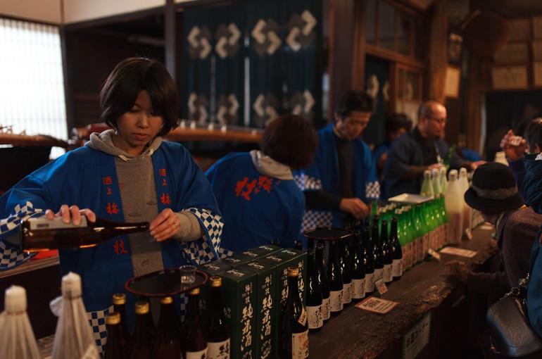 梅ヶ枝酒造「春の蔵開き」に行ってきました。