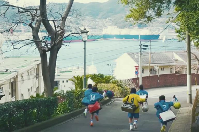 三菱重工が長崎市を舞台にしたCMを公開