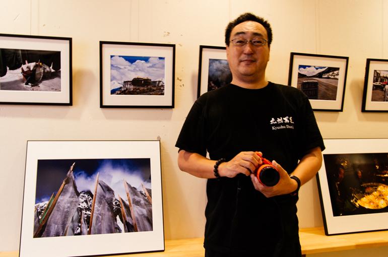 写真家 山崎政幸と「チベット旅遊」写真展