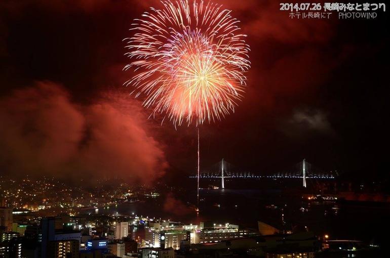 長崎みなと祭の花火