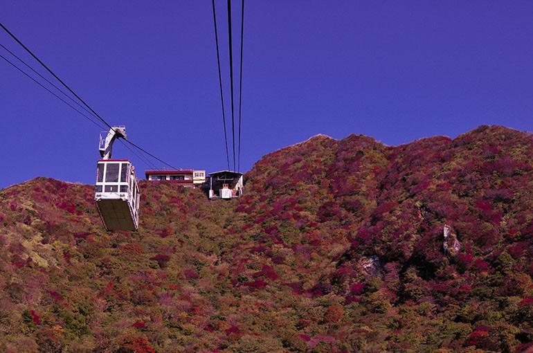 [Scene No.5] 秋の雲仙と妙見岳山頂から見た風景