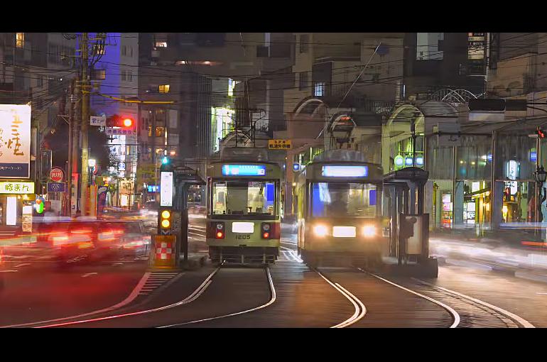 2014 NAGASAKI CITY NIGHT TIME LAPSE