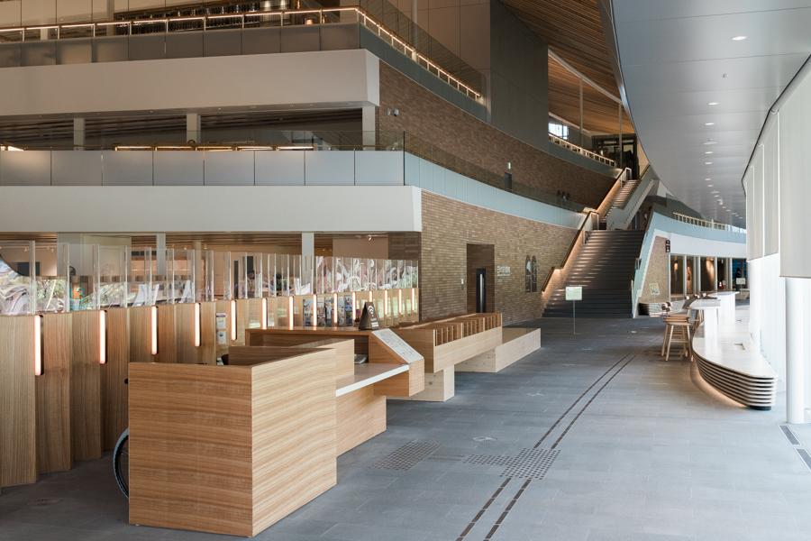 長崎の未来が見えてくる複合図書館施設『ミライon』まもなく大村にオープン!